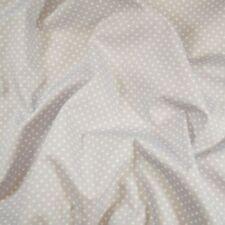 100% Cotton Poplin Fabric Rose & Hubble 3mm Spots Polka Dots Dotty