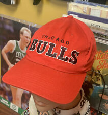New listing Vintage Starter 1990 Chicago Bulls Snapback Hat Red Boys In The Hood Style