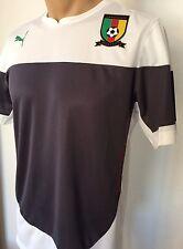 Cameroon Shirt Puma Training Jersey Gr. M Kamerun Herren Trikot White-Ebony Neu