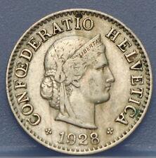 Zwitserland - Switzerland  5 Rappen 1928 KM# 26