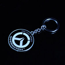 Overwatch Logo Metal Keychain Pendant Key Rings Unisex Collectible Key Chains