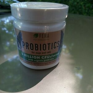 FERA Probiotics for Dogs and Cats - USDA Organic Certified - Advanced Max-Streng
