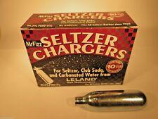 50 CO2 soda charger 8g C02 seltzer water cartridge 8 gram  LELAND 5 x 10 C02