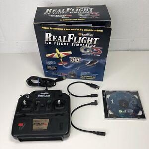 Great Planes Real Flight RC Flight Simulator G3 Remote Preowned Original Box