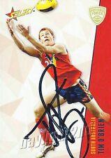 ✺Signed✺ 2012 HAWTHORN HAWKS AFL Card TIM O'BRIEN Future Force