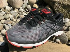 Asics GT 2000 6 Men's Running Sneakers Size 12 Grey/Black/Red