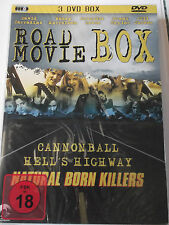 Road Movie Box  Sammlung - Cannonball, Natural Born Killers, Hells Highway