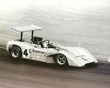 Vintage & Rare 8X10 1969 Riverside McLaren M8B Bruce McLaren Can Am Racing Photo