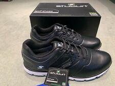 Size 9 Stuburt Evolve Spikeless II Mens Black Golf Shoes, Waterproof