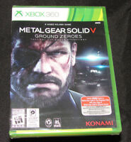 Metal Gear Solid V: Ground Zeroes (XBOX 360)     **BRAND NEW FACTORY SEALED**