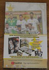 Panini DFB Calendrier de L'Avent la Équipe Allemand Équipe Nationale Neuf & Ovp