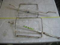 Telaietti per borse morbide laterali Suzuki anni 80