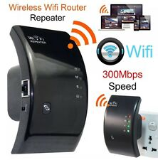 Wireless WiFi Repeater Signal Booster Extender Router Internet Long Range WPS UK