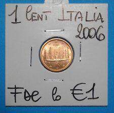 1-2-5 CENT ITALIA  2006  FDC LOTTO DI 3 MONETE   SIGILLATE OBLO COMPRA SUBITO