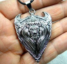 Fashion Retro Tibetan silver Charm cute Skull head Pendant & necklace T1
