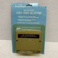 VINTAGE ARCHER 15-1248 A/B/C Video Selector RADIO SHACK New Old Stock