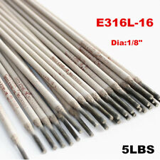 New listing 5lbs Stainless Steel Arc Welding Electrodes Rods Sticks E316L-16 Welding Rods