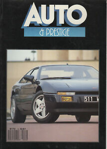 AUTO & PRESTIGE 10 MVS VENTURI BENTLEY TURBO R OPEL SENATOR 3.0i CD BMW M635 CSi