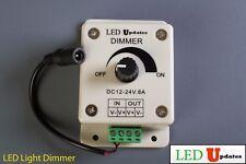 LED Light Dimmer for all Make up vanity mirror LED Light LEDupdates 12v & 24v