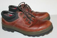Tommy Hilfiger Vintage Brown Leather Lace Up Hiking Work Boots Men's Size 11 M