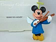 Grolier Mickey Mouse as an Angel Disney Ornament Christmas DCA Playing Violin