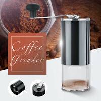 Professional Manual Coffee Grinder Portable Hand Bean Mill Cafe Stainless Steel
