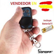 CONTROL MANDO REMOTO DISTANCIA RF433MHZ PARA EQUIPOS SONOFF DOMOTICA INTELIGENTE