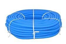Flexibles Wellrohr M28 100 m Blau Ring Elektrorohr Schutzrohr Leerrohr