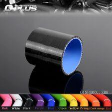 """2 """"51mm silikon direkt schlauch koppler turbo ladeluftkühler rohr schläuche"""
