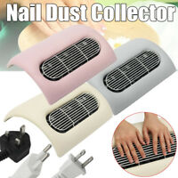 Nail Art Salon Suction Dust Collector 3 Fan Vacuum Cleaner Dryer Tool