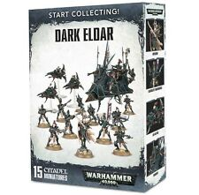 Warhammer 40k Start Collecting! Dark Eldar Drukhari (15 Mini )   NIB / Free Ship
