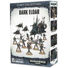 Warhammer 40k Start Collecting! Dark Eldar (15 Mini )    NIB / Free Ship