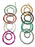 Complete Front & Rear Inner Outer Wire Brake Cable Set Bike Bicycle Multicolour