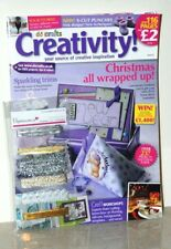DO CRAFTS CREATIVITY MAGAZINE CHRISTMAS 2008 ISSUE 12 NEW + Free Gifts