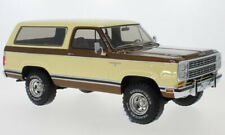 1979 Dodge Ram Charger Beige / Brown metallic by BoS Models LE of 300 1/18 New!