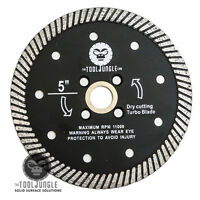 5 Inch  Diamond Turbo Saw Blade Granite, Concrete, Tile, Stone, Construction