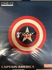 Mezco Toyz One:12 Collective Captain America Action Figure IN STOCK USA