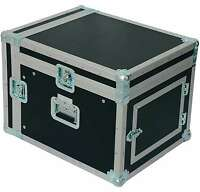 8/12 HE PROFI Kombi-Case Winkelrack L-Rack DJ-Case Doppel-CD-Player & Mixer-Case