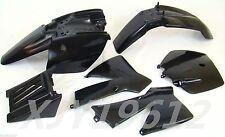 Plastic Body Fender for KTM50 Senior Adventure Junior 50cc SX SR JR Black