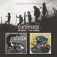 CATFISH - GET DOWN/LIVE CATFISH   CD NEW+