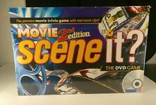 Scene It? Movie 2nd Edition Board Game Sealed New Family Game Night