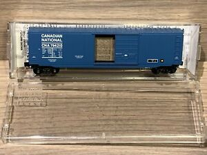 N Scale Micro Trains 50' Box Car Canadian National 077 00 220 CNA #794210