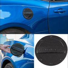 Carbon Fiber Car Fuel Tank Oil Gas Cap decor Cover Trim Fit Chevr Camaro 2016+