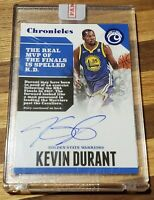 2017-18 Panini Chronicles Basketball On Card Autograph # 58/75 Kevin Durant HOT