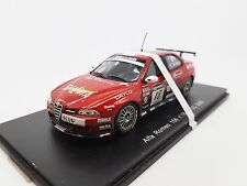 New 1:43 Spark Car Model Alfa Romeo 156 N18 WTCC 2006 S0478