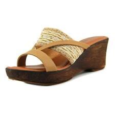 Sandali e scarpe beigi marca Easy Street per il mare da donna tacco medio ( 3,9-7 cm )