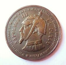 NAPOLEON III  médaille satirique 32mm