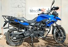 BMW F700GS Whole-welded luggage rack system Black Mmoto MM72