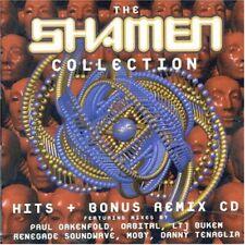 THE SHAMEN - COLLECTION (HITS & REMIXES)  2 CD NEU