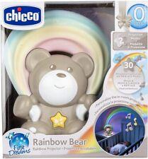 Proiettore luce notturna Chicco 10474 First Dreams Orsetto arcobaleno